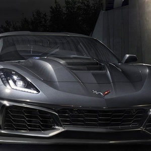Noul supercar de la Chevrolet cu anvelopele Michelin - Corvette ZR1!